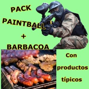 Pack Paintball + Barbacoa