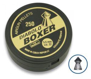 Balines DIABOLO BOXER Cal. 5.5mm