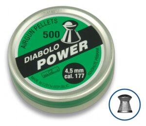 Balines DIABOLO POWER Cal. 4.5