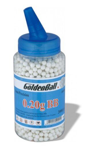 Bola GOLDENBALL Compacta Biberon 2000 uds 0.20g