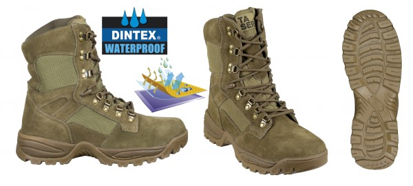 Bota BARBARIC FORCE Army Prof Waterproof