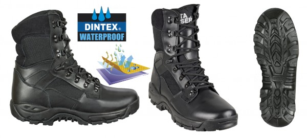 Bota BARBARIC FORCE negra Pro WATERPROOF
