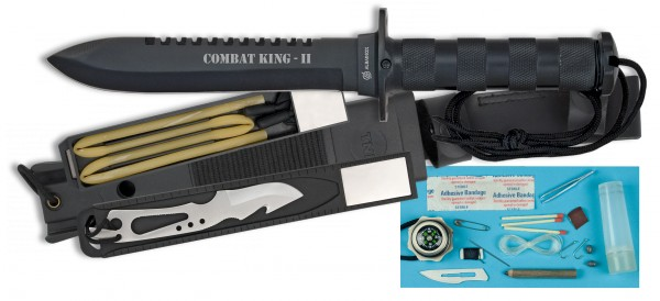 Cuchillo ALBAINOX Supervivencia, COMBAT KING II