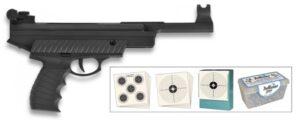 Kit Pistola Aire Comprimido, Mod 25MW Cal, 4,5mm