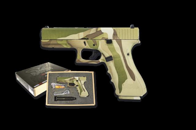 Pistola Nuprol Raven EU17 Camo, Gas