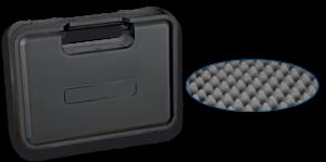 Maletín plástico arma 30.2×22.8×6 cm