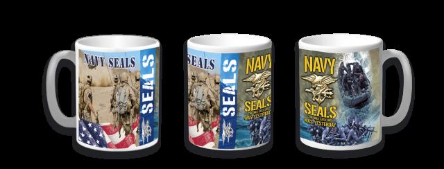 Taza cerámica Navy Seals