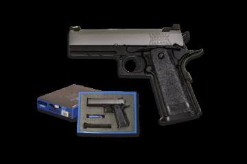 Pistola NUPROL RAVEN HI CAPA 4.3 gris