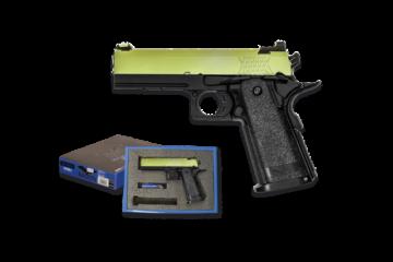 Pistola NUPROL RAVEN HI CAPA 4.3 verde