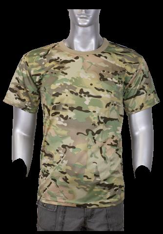 camiseta barbaric camo pixel
