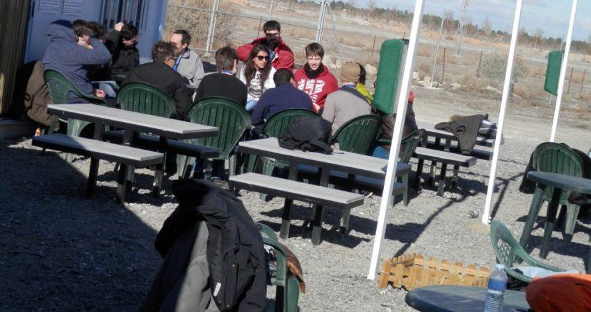 terraza exterior y picnic